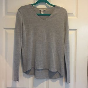 palette Tops - Palette Soft Grey Sweater